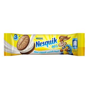 Nesquik Biscuits Milk Cream 28g