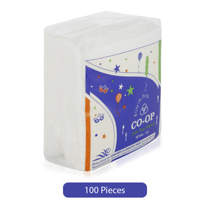 Co-op Table Paper Napkins 100pc