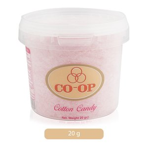 Co-op Cherry Flavored Cotton Candy 20g