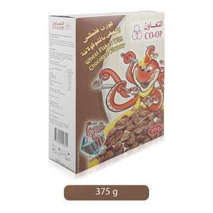 Co-op Chocolate Flavour Wheat Flakes 375g