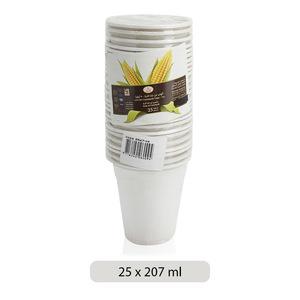 Co-op Cornstarch Cups 207ml