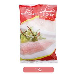 Co-op Frozen White Fish Fillets 1kg