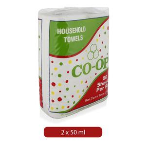 Co-op Household Towels Rolls 2pc