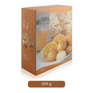 Co-op Orange Flavored Cup Cakes 24x275g
