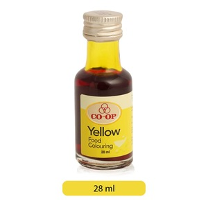 Co-op Yellow Food Coloring 28ml