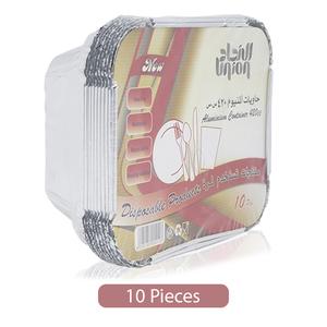 Union Aluminum Foil Container 10pc