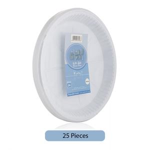 Union Disposable Plastic Plate 25pc