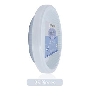 Union Plastic Plates 25pc