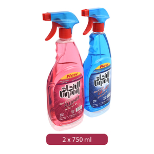 Union Glass & Surface Cleaner 2x750ml