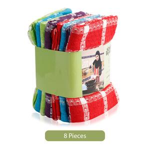 Union Smart Collection Cotton Kitchen Towel 8pc