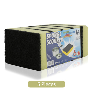 Union Sponge Scourer 5pc