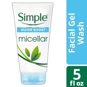 Simple Water Boost Facial Gel Wash 150ml