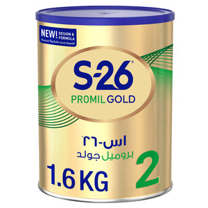 S26 Promil Gold Stage 2 From 6 to 12 Months 1.6kg