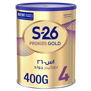 S26 Prokids Gold Stage 4 From 3 to 6 Years 400g