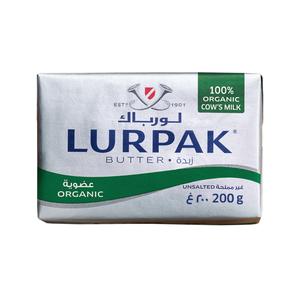 Lurpak Organic Unsalted Butter 200g