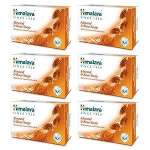 Himalaya Almond Soap 6x125g