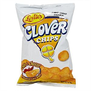 Leslies Clover Chips Chilli And Cheese 85g