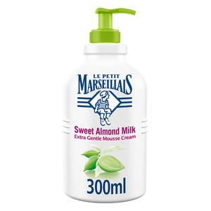 Le Petit Marseillais Liquid Soap Sweet Almond Milk Extra Gentle Hand Mousse Cream 300ml