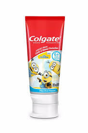Colgate Toothpaste Kids Minion 6 50ml