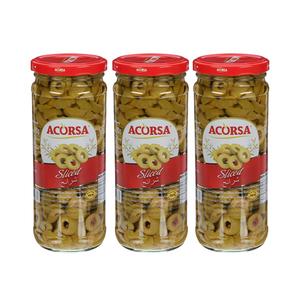 Acorsa Green Olive Sliced 3x230g