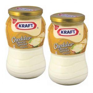 Kraft Cheddar Cheese Spread 2x480g