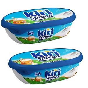 Kiri Creamy Tub Cheese 2x200g