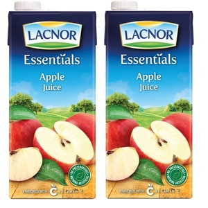 Lacnor Pure Apple Juice 2x1L