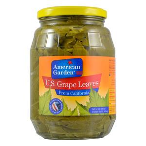 American Garden US Grape Leaves Jars 907g