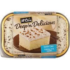 Mc Cain Vanilla Cake 510g