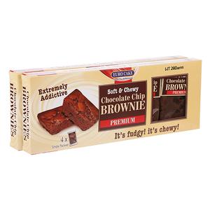Euro Cake Choco Chip Brownie 2x240g
