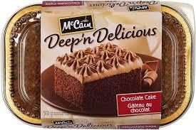 Mc Cain Chocolate Cake 510g