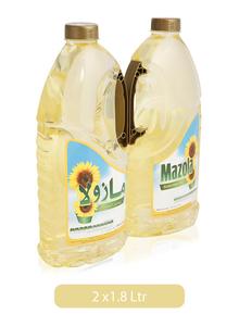 Mazola Sunflower Oil 2x1.8L