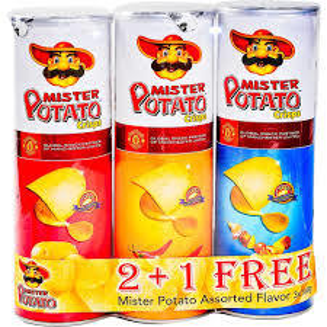Mr. Potato Assorted 3x160g