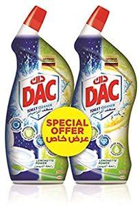 Dac Toilet Cleaner Lemon 2x750ml