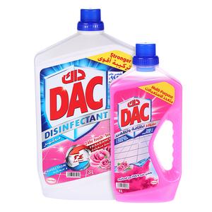 Dac Disinfectant Gold Rose 3L+1L