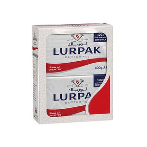 Lurpak Unsalted Butter Block 2x400g