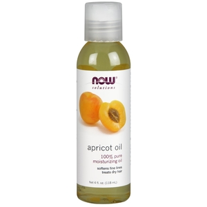 Now Solutions Apricot Oil 100% Pure 118ml