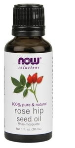 Now Solutions Rose Hip Seed Oil 100% Pure 30ml