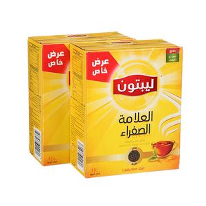 Lipton Yellow Label Black Loose Tea 2x400g