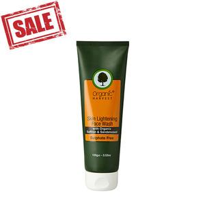 Organic Harvest Skin Lightening Face Wash 2pc