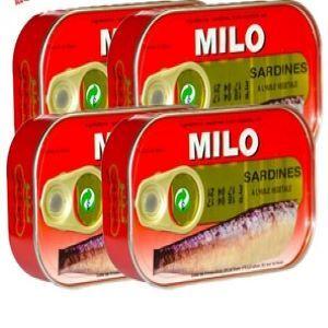 Milo Moroccan Sardines 4x125g