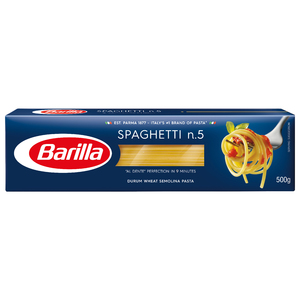 Barilla Pasta Spaghetti 2x500g+sauce