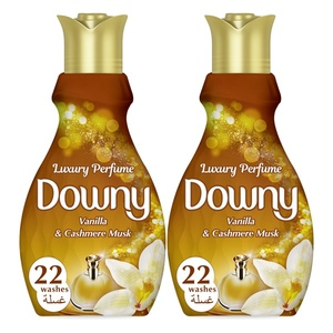 Downy Perfume Collection Concentrate Fabric Softener Feel Luxurious 2x880ml