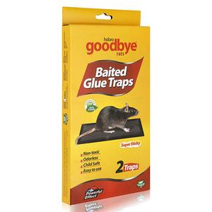Goodbye Rat Baited Glue Trap 1set