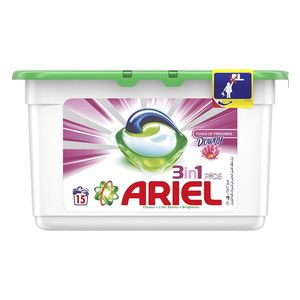 Ariel Automatic 3 In 1 PODS Laundry Detergent Touch Of Freshness Downy  15x28.8g