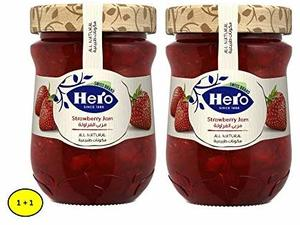 Hero Strawberry Jam 2x350g