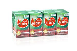 Al Ain Tomato Paste Tetrapack 8x135g