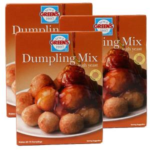 Green's Dumpling Mix 3x500g