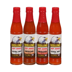 Excellence Hot Sauce 4x3oz