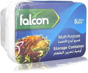 Falcon Storage Container Mutli Purpose With Lid 5s